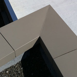 Break Metal Amp Parapet Cap Arizona Composite Metals